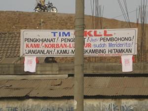 Protes Warga (Juli 2008)