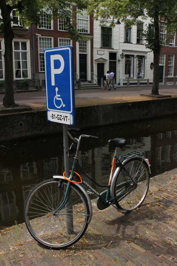 Kawasan kota tua Delft, Belanda